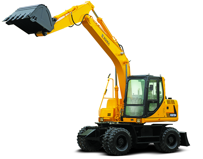 厦工轮式挖掘机XG815W