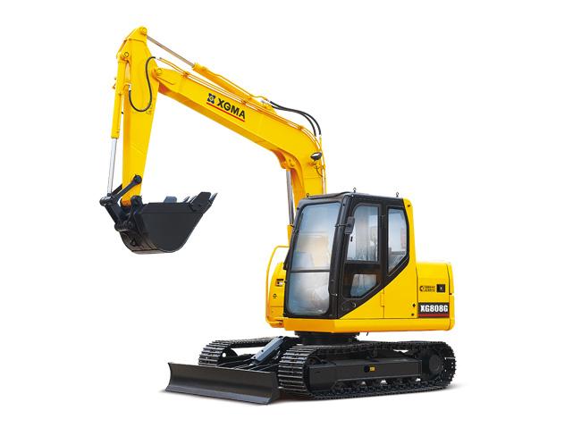 厦工履带式挖掘机XG806/XG808