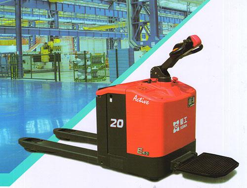 厦工E系列 2-4吨 全电动搬运车 站人式电动升高车