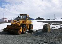 厦工装载机、挖掘机七次挺进南极