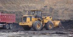 厦工装载机在矿山施工作业图集