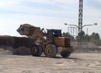 厦工装载机助力厦门市海沧区某沙场施工作业