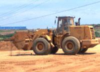 厦工装载机在厦门翔安区助力土方施工作业