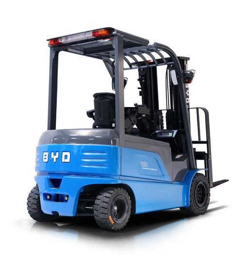 BYD电动平衡重式叉车3.5