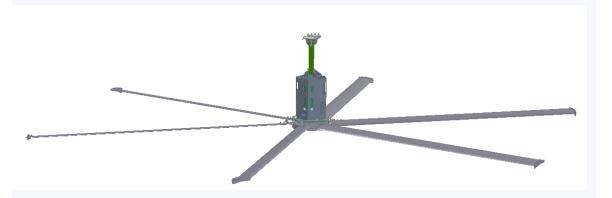 三新吉康SX-DFS吊装型农用风扇