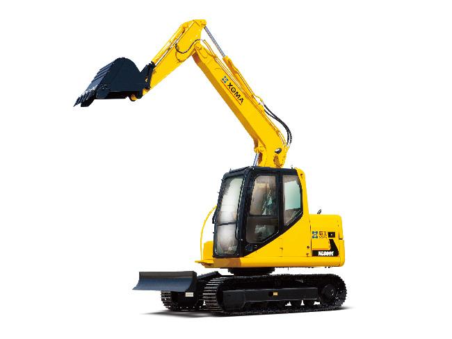 厦工履带式挖掘机XG809E