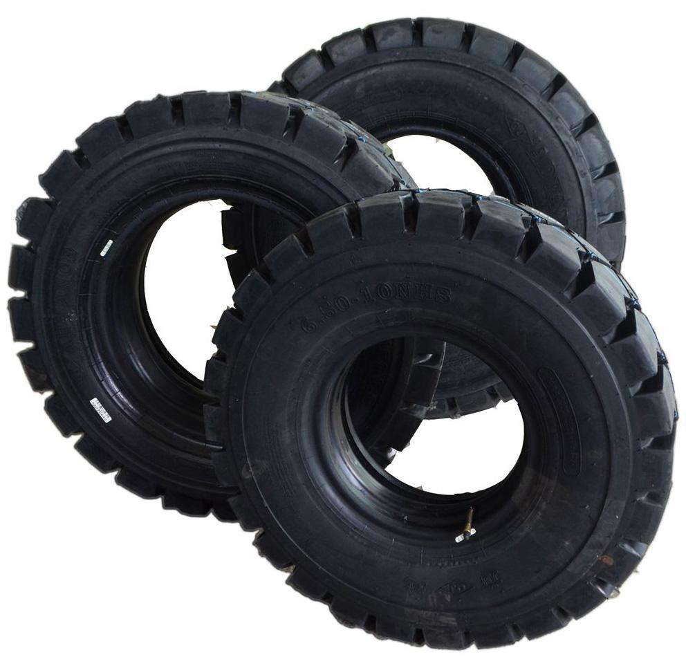 前进工业充气叉车轮胎