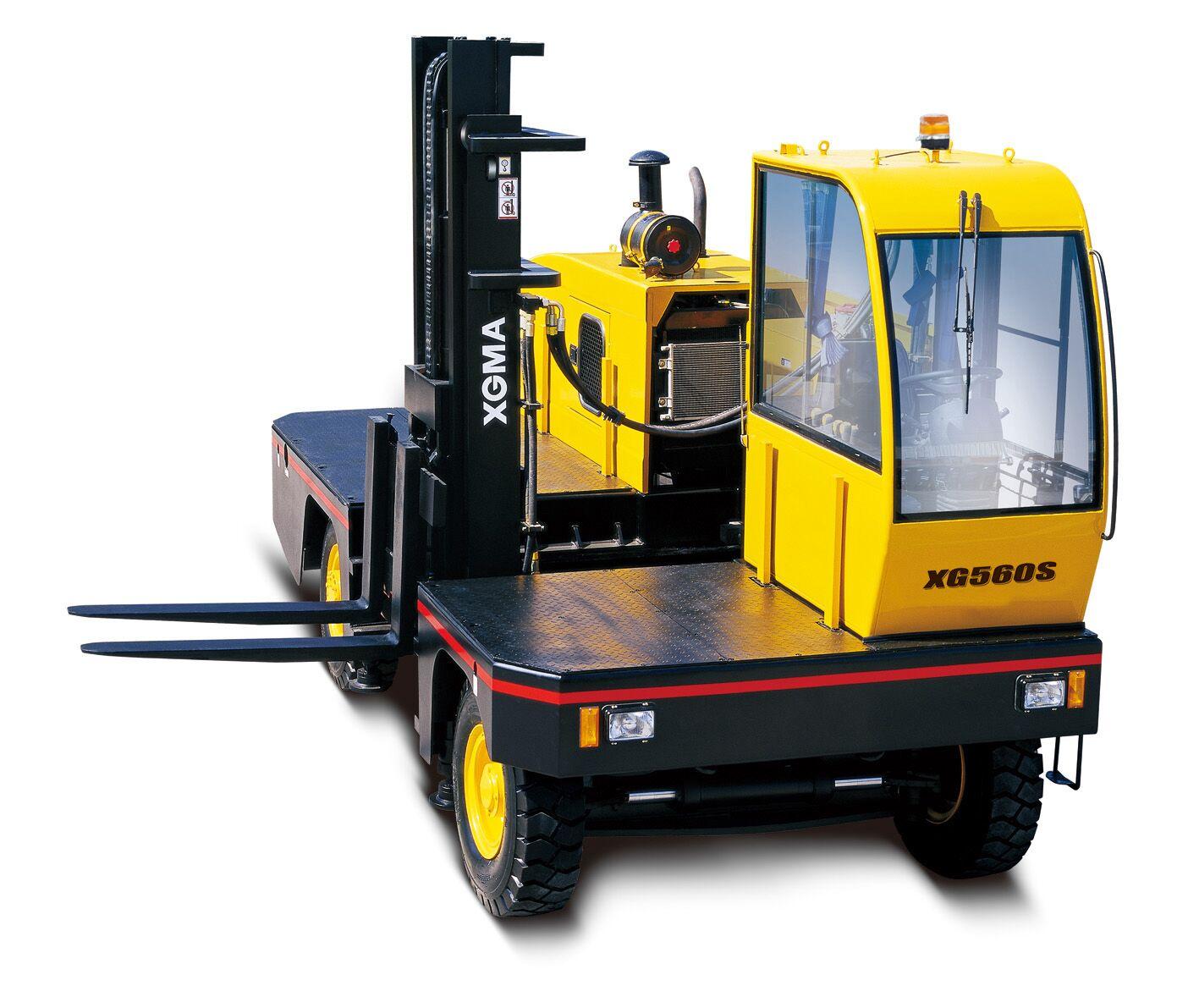 厦工5.0/6.0吨内燃侧面叉车XG550S-DT2/XG560S-DT2