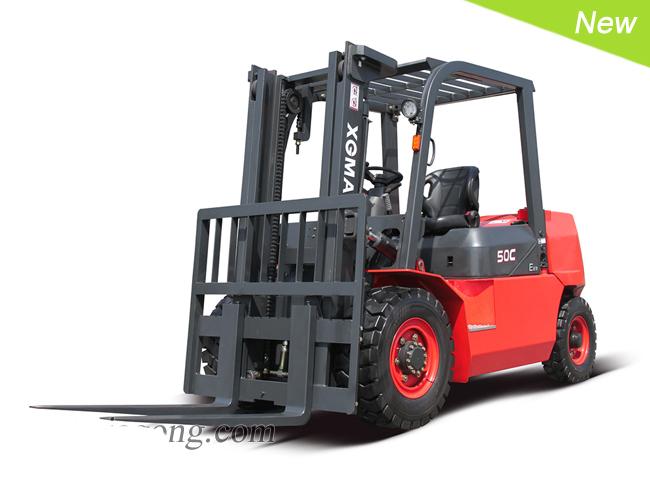 厦工XG550-DT5C 内燃平衡重式叉车