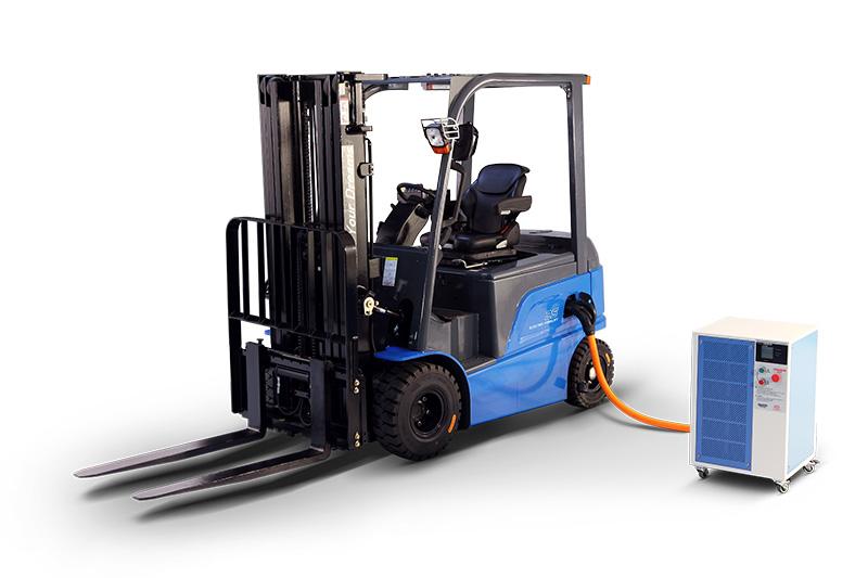 比亚迪电动平衡重式2.5吨叉车