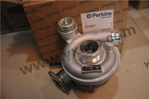 珀金斯Perkins 1206E柴油发动机涡轮增压器U000850Y、T418475机油冷却器、汽缸盖总成