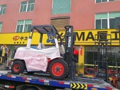 9月热情不减,翔安某医疗机械公司采购厦工叉车