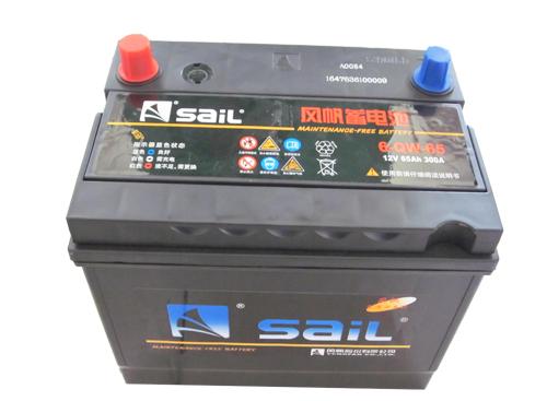 风帆叉车电瓶12V 80A100A蓄电池