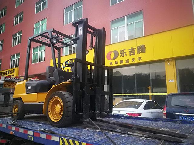 厦门国际货柜码头有限公司租赁厦工叉车