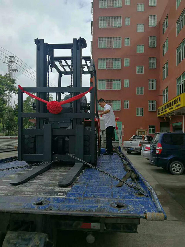 厦门某宝工贸有限公司采购厦工E系3吨叉车