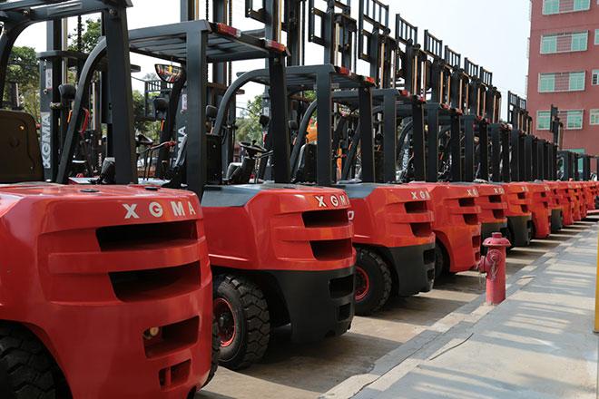 论中国叉车工业之经济型叉车方向,谁才是强者?