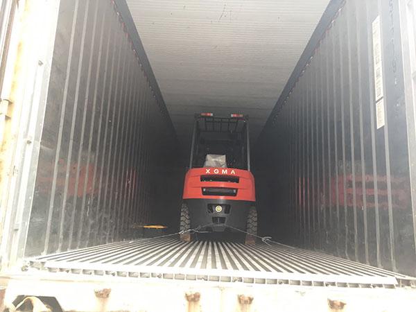 厦门某际电力发展有限公司采购厦工E系3吨叉车一台