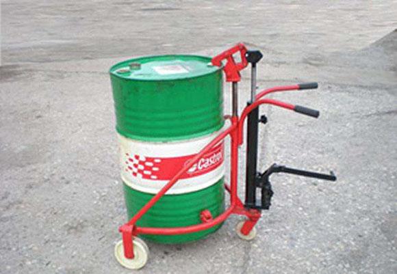 油桶搬运车高效、及时、安全地完成装卸转移工作