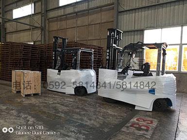 福建某水产科技有限公司采购比亚迪电动叉车2台