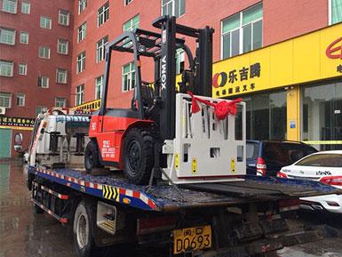 三明某石业有限公司采购厦工内燃平衡重式3吨叉车