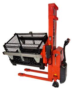 可以倾斜和翻转箱体以及框体 箱体翻转车配可调节式箱托