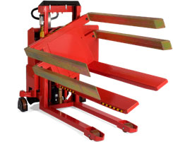 可以倾斜和翻转箱体和框体 箱体翻转车配固定式箱托