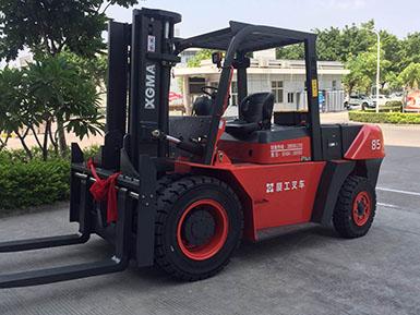 厦门同安某工厂采购厦工8.5吨叉车 大吨位叉车