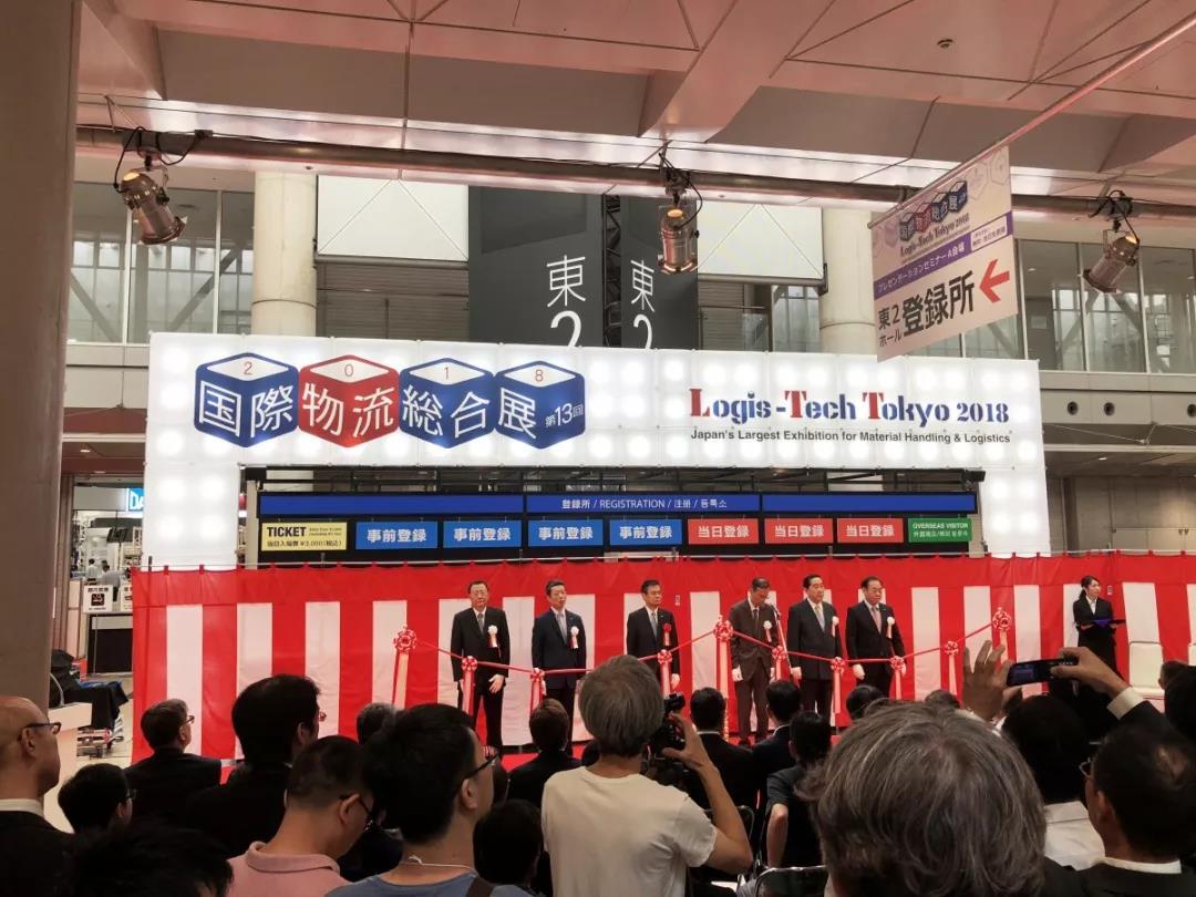 厉害了,比亚迪San——比亚迪叉车惊艳日本国际物流综合展!