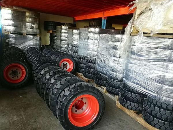 叉车轮胎的存放和轮胎的使用知识普及