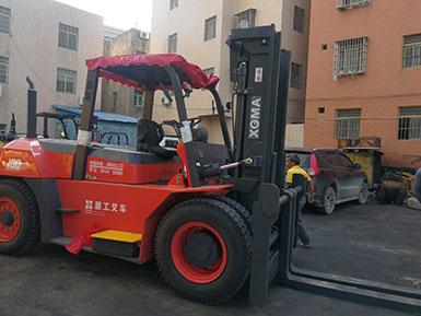 厦门某工程机械租赁有限公司采购厦工10吨叉车