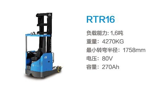 比亚迪RTR16—1.6吨座驾式前移叉车