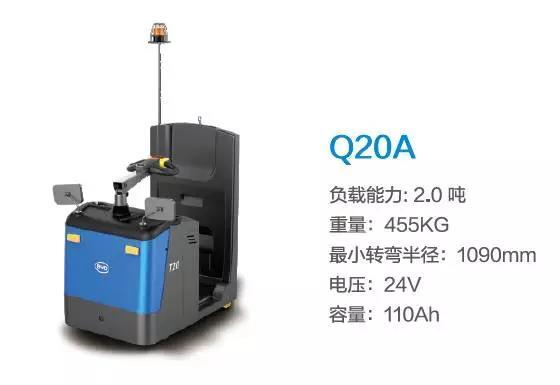比亚迪Q20A—2.0吨站驾式牵引车