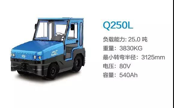 比亚迪Q250L—25吨座驾式牵引车