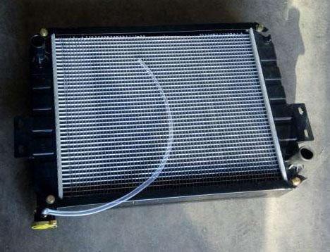 叉车散热器的清洗方法和检查修理方法