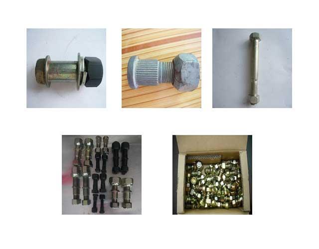 叉车螺丝、连接螺丝、轮胎螺丝、轮网螺丝