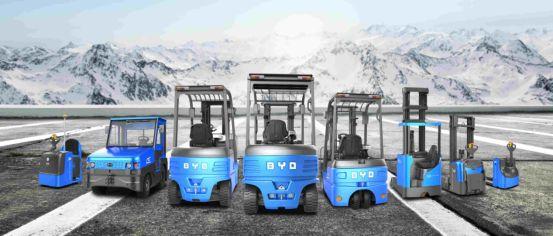 新能源叉车引领者——比亚迪叉车