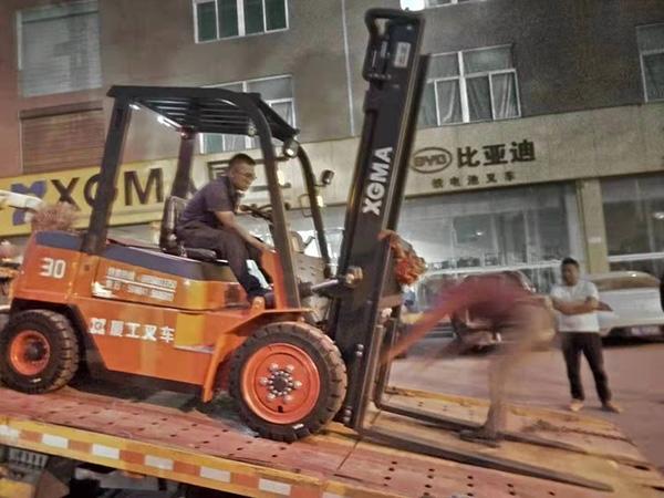 急客户之所急,永新昌叉车服务暖人心