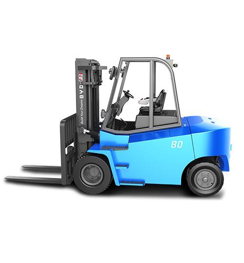 比亚迪7.0-8.0吨平衡重式叉车