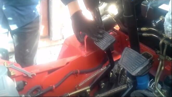 叉车离合器调节教程