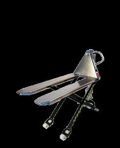手动升降搬运车(半不锈钢):手动搬运及抬升