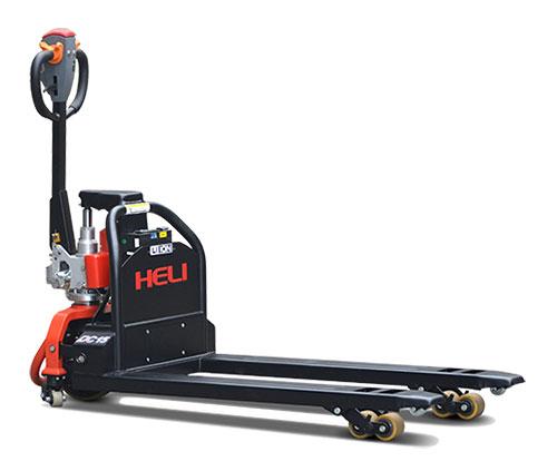 合力1.5吨步行式锂电池电动托盘搬运车